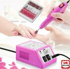 Kyпить Electric Nail File Drill Manicure Machine Art Acrylic Pedicure Tool Set Kit Bits на еВаy.соm