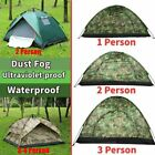 Waterproof 3-4/2/1 Person Automatic Instant Pop Up Outdoor Camping Tent Family