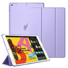 For Apple iPad 8th 7th Generation 10.2 Hard Shell Flip Case Stand Leather Cover