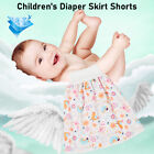 Comfy Childrens Diaper Skirt Shorts 2 in 1 Waterproof Absorbent Baby Urine Pad