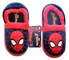 The ULTIMATE SPIDER-MAN MARVEL COMICS Plush Slippers Size 7-8, 9-10 or 11-12 NWT