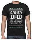 Gamer Dad Gift for Fathers Cool Dad's Gaming Ugly Christmas Sweater T-Shirt