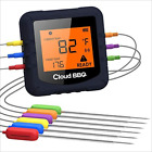 Wireless Digital Meat Thermometer,Cloud Bbq Bluetooth Kitchen Thermometer With 6