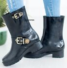 LADIES WOMENS RAIN WELLIES GARDEN FESTIVAL WATERPROOF WELLINGTON BOOTS SHOES <br/> *ITEM SENT OUT ARE IN US SIZES*