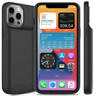 For iPhone 12 Pro Max/12 Mini Battery Charger Case Power Bank / Screen Protector