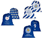 Official Personalised Leicester City FC Santa Sack Christmas Present Delivery