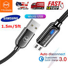 Micro USB Fast Charger Cable Data Sync Cord For Samsung LG HTC Android Phone 5ft