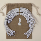 36 x Premium Braided Modular Eurorack Patch Synthesizer Cables - 15/30/60 cm