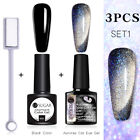 UR SUGAR 2-3pcs Magnetisch Nagel Gellack Nail UV Gel Polish Snowlight Gel Kit
