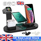 4in1 Wireless Charger Charging Dock Station for Apple Watch / iPhone/Air Pod UK
