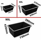 40L / 60L / 80L Cat Dog Litter Tray PLASTIC BOX BOXES Containor