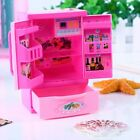 Food Play Set Mini Kitchen Refrigerator Accessories For Barbie Doll Dream House