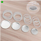 3/6/9/12 Cup Replacement Silica Gel Gaskets Stainless Steel Filters for Moka Pot