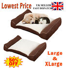 Deluxe Orthopaedic Soft Dog Pet Warm Sofa Bed Cushion Chair Large XLarge Luxury