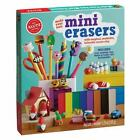 NEW SEALED Klutz Make Your Own Mini Erasers Set With  Clay And Book