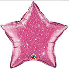 """20"""" Crystalgraphic Stars Sparkly Foil Mylar Balloon Party Event Decorations"""