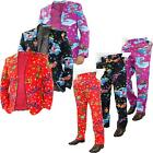 Mens Christmas Costume Party Fancy Dress Long Sleeve Coat Novelty Pant Lot