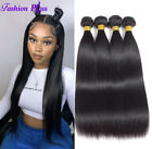 10A Brazilian Virgin Human Hair 4 Bundles Remy Straight Weft Extensions Wavy