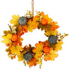 Berry Door Hanging Pumpkin Wreath Halloween Wreath Thanksgiving Decoration
