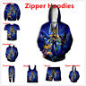 Anime Yu-Gi-Oh 3D Print Womens Mens Zipper Hoodies/Sweatshirt/Pants/ Sport Suit