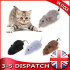 Clockwork Mouse Pet Toy for Cat Dog Plush Rat Mechanical Motion Interactive