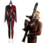 The Suicide Squad Harley Quinn Cosplay Costume Outfits Halloween Carnival Suit