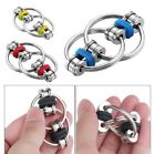 Fidget Toy Chain Hand Spinner Key Ring Sensory Toys Stress Relieve ADHD