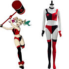 Harley Quinn Costume Cartoon Harley Quinn Cosplay Sexy Outfit Bra Shorts Gloves
