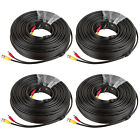 RG59 4Pcs Siamese CCTV Combo Coaxial Cable 20 AWG Video 18/2 18AWG Power Cable