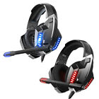 ONIKUMA K18 Wired Gaming Headphone Backlight Over-Ear Headset with Microphone