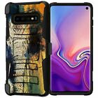 For Samsung Galaxy S10 Plus (S10+) Dual Layer Shell Belt Clip Holster Case
