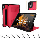 For Apple iPad Air 4 4th Gen 10.9 Smart Case Pencil Holder Auto Wake Sleep Cover