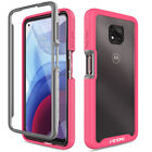 For Motorola Moto G Power 2021/G Play/One 5G Ace Case Cover + Screen Protector