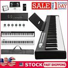 88 Key Electric Digital Piano Keyboard Weighted Key w/ Pedal, Charger Box USA
