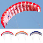 Outdoors Toy Dual Line Parafoil Beach Parachute Stunt Sport Red Kite Adults Kids