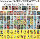 Nintendo Game Pack Series 1 Cards  - You Pick - 1989 O-Pee-Chee (OPC) - Mario