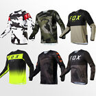 Fox Motocross Jersey Offroad  MTB BMX Cycling T-Shirt ATV MX 2021