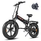 ENGWE Electric E Bike 48V12.5A Fat Tire Snow  Aluminum 500W Mountain Bicycle
