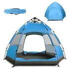 Waterproof Automatic 5-6 People Outdoor Instant Popup Tent Camping Hiking Muti
