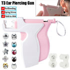 New T3 Professional Ear Piercing Gun Ear Piercing Tools Easy to Use Ear Studs
