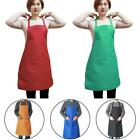 Plain Apron With Pocket For Chefs Butcher Home Kitchen Cooking Craft Baking