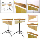 Golden Bar Chimes 36 Bars Musical Instrument for Percussion Table Yoga
