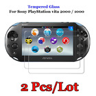 2PCS For Sony PlayStation PS Vita 2000 1000 Tempered Glass Film Screen Protector