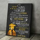 Graduation To My Son I Will Always Carry You In My Heart Love Mom Poster/ Canvas