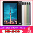 "10.1"" Android 10.0 Pad 8 256G with Triple Camera Wifi GPS Dual SIM Tablet"