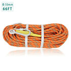 10mm  Polyester Arborist Bull Rope Tree Rigging Line Utility Rope Climbing Escap