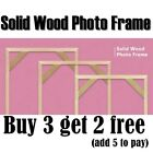 Wooden Frame DIY Picture Frames Art Suitable for Home Decor Diamond Paintings US