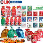 30%2F50x+Christmas+Cellophane+Bags+Party+Cello+Cookie+Sweet+Candy+Gift+Biscuit+Bag