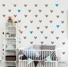 Mickey Mouse Wall Sticker Set Of Vinyl Art Home Decor 36 Room Home Decorations