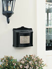 Gaines Wall Mount Mailbox - Maple Leaf Plate Mail Box - W...